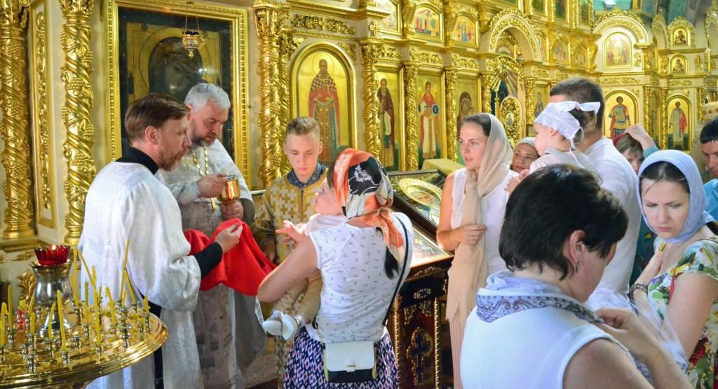 Богослужение в Казанском соборе